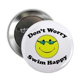 "Don't Worry Swim Happy 2.25"" Button (100 pack)"