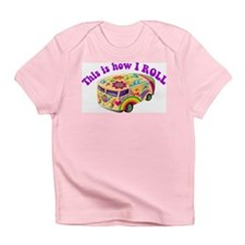 How I Roll Hippie Van Infant T-Shirt