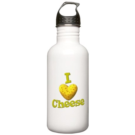 I love Cheese Stainless Water Bottle 1.0L