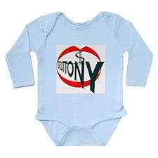 Gluttony Long Sleeve Infant Bodysuit