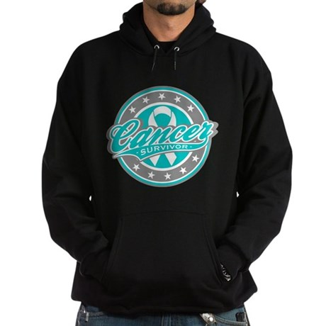 Ovarian Cancer Survivor Sport Hoodie (dark)