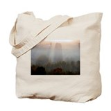 Aroostook dawn shadows Tote Bag