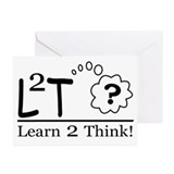 Learn2Think Greeting Cards (Pk of 10)