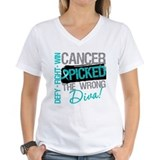 OvarianCancer PickedWrongDiva  Shirt