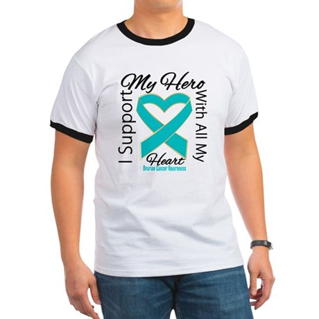 Ovarian Cancer Hero Support Ringer T