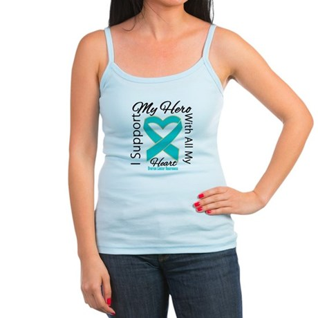 Ovarian Cancer Hero Support Jr. Spaghetti Tank