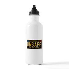 UNSAFE Vintage Plate Water Bottle