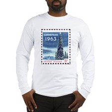Christmas Stamp Long Sleeve T-Shirt