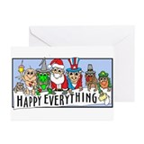 Cute New year Greeting Cards (Pk of 10)