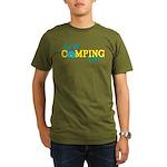 Are We Camping Yet? Organic Men's T-Shirt (dark)