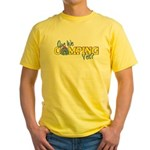Are We Camping Yet? Yellow T-Shirt