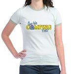 Are We Camping Yet? Jr. Ringer T-Shirt