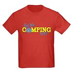 Are We Camping Yet? Kids Dark T-Shirt