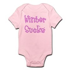 Cute Winter sucks Infant Bodysuit