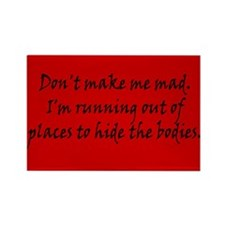 Don't Make Me Bad Rectangle Magnet (10 pack)