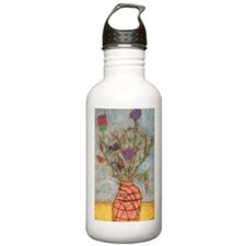 Tamara's Vase of Flowers Water Bottle