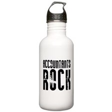 Accountants Rock Water Bottle