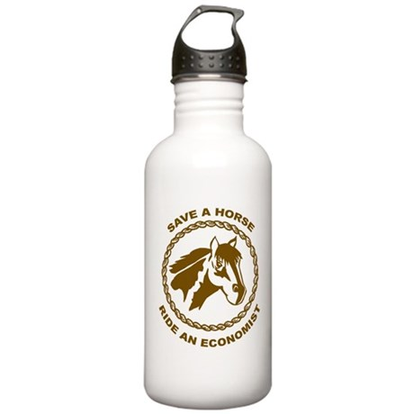 Ride An Economist Stainless Water Bottle 1.0L