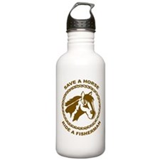 Ride A Fisherman Sports Water Bottle
