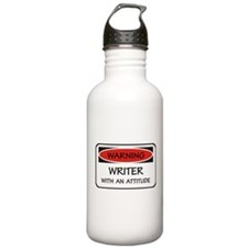 Attitude Writer Water Bottle