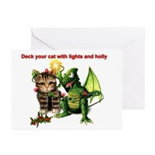 Decorate your Cat Greeting Cards (Pk of 10)