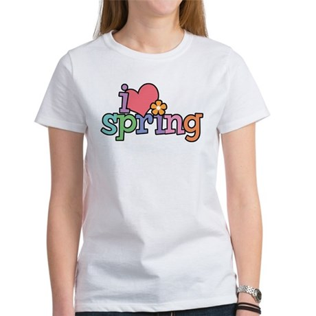 I Love Spring Women's T-Shirt