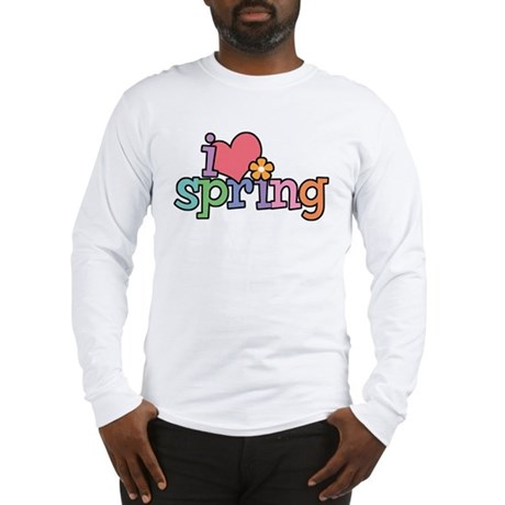 I Love Spring Long Sleeve T-Shirt