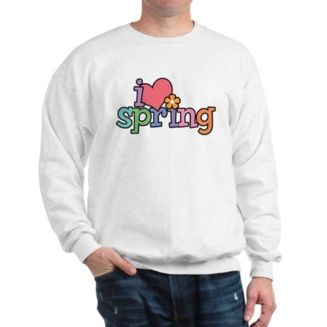 I Love Spring Sweatshirt