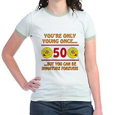 Immature 50th Birthday T