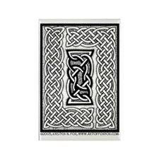 Celtic Knotwork Framing Rectangle Magnet