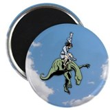 "Raptor Rodeo Jesus 2.25"" Magnet (10 pack)"