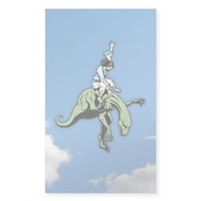 Raptor Rodeo Jesus Decal