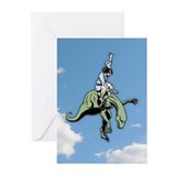 Raptor Rodeo Jesus Greeting Cards (Pk of 10)