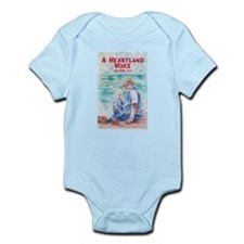 "cover of ""A Heartland Voice"" Infant Bodysuit"