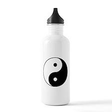 Yin & Yang (Black/White) Water Bottle