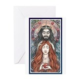 Hades &amp; Persephone Greeting Card