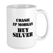 Crash JP MORGAN Buy Silver Mug