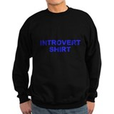 Introvert Shirt - Blue  Sweatshirt