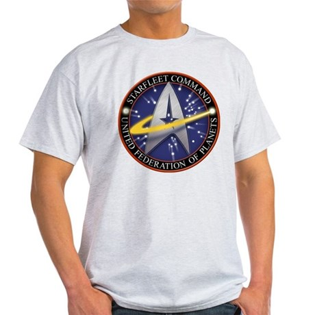 Star Fleet Command 3D Light T-Shirt
