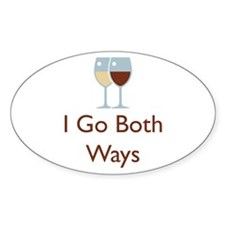I Go Both Ways Decal