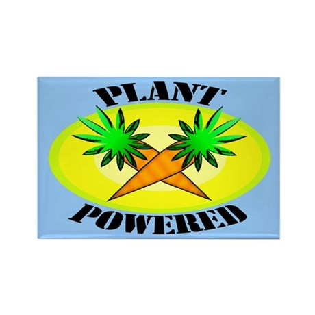 Plant Powered Rectangle Magnet (100 pack)