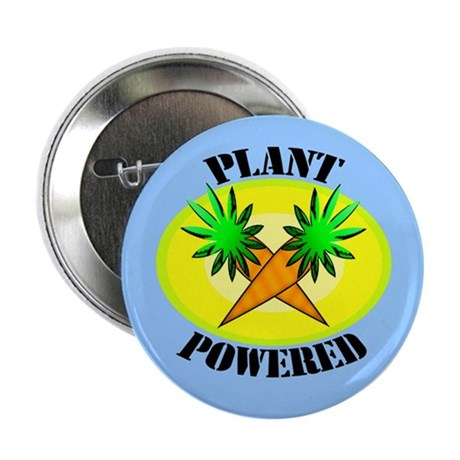 "Plant Powered 2.25"" Button (100 pack)"