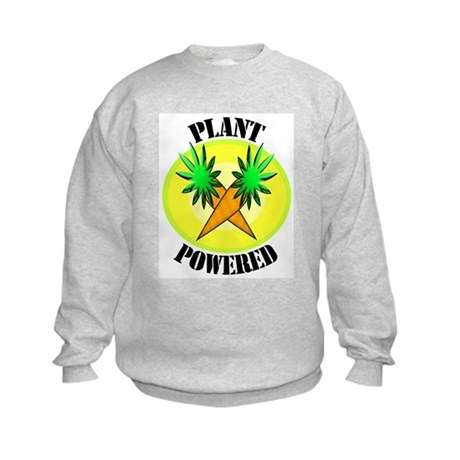 Plant Powered Kids Sweatshirt