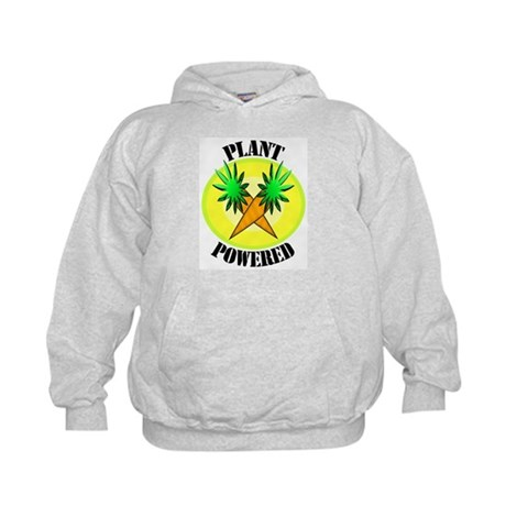 Plant Powered Kids Hoodie