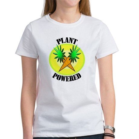 Plant Powered Women's T-Shirt
