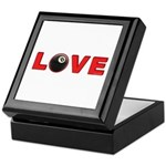 Billiard Love 3 Keepsake Box