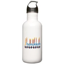 Hanukkah Water Bottle