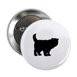 "Persian cat 2.25"" Button (10 pack)"
