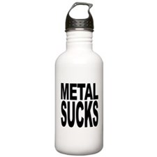 Metal Sucks Water Bottle
