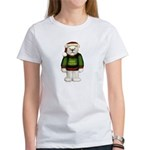 White Teddy Bear Women's T-Shirt